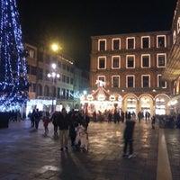 Photo taken at Piazza dei Signori by Manfredi A. on 1/1/2013