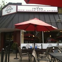 Photo taken at Pete's New Haven Style Pizza by Angelica H. on 9/16/2012