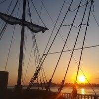 Photo taken at Duckaneer Pirate Ship by Robert B. on 10/19/2016