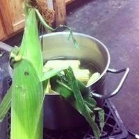 Photo taken at green bean by Sharli J. on 7/18/2013