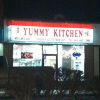 Photo taken at Yummy Kitchen by AnnMarie B. on 1/1/2013