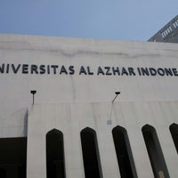 Photo taken at Universitas Al Azhar Indonesia by Julia D. on 10/10/2012
