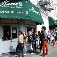Photo taken at Mama's on Washington Square by kky0suke on 6/7/2013