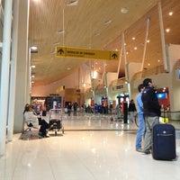 Photo taken at Aeropuerto Internacional El Tepual (PMC) by Tatiana B. on 2/21/2013