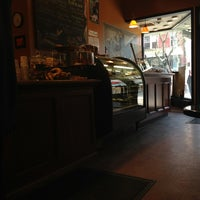 Photo taken at Michelangelo's Coffee House by Angélica P. on 3/17/2013