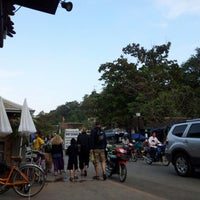 Photo taken at BonCafe, Luangprabang by bins on 12/31/2012
