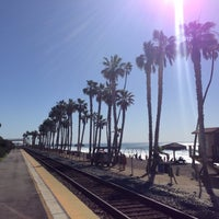 Photo taken at Metrolink San Clemente Pier Station by Eric M. on 1/24/2015