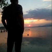 Photo taken at Pantai Amahami by iwan k. on 2/28/2015