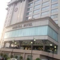 Photo taken at Oriental Hotel by Kunle P. on 9/12/2013