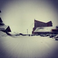 Photo taken at Valle Nevado by Miguel Angel F. on 6/28/2013