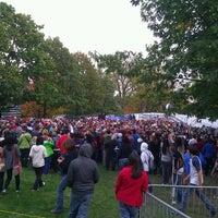 Photo taken at Bascom Hill by Ryan B. on 10/4/2012