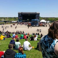 Photo taken at Somerset Amphitheater by Linnea S. on 5/9/2015