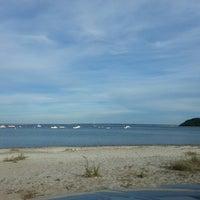 Photo taken at Pavillion Beach by Glenn K. on 9/9/2013