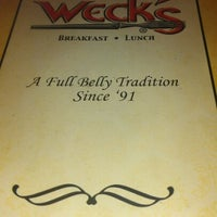 Photo taken at Weck's by CanCan C. on 9/15/2012