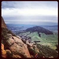 Photo taken at Bishop Peak (The Summit) by Michael B. on 2/2/2013