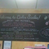 Photo taken at Dolce Sicilia by Steckles on 9/28/2012