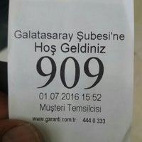Photo taken at Garanti Bankası by Mehmet K. on 7/1/2016