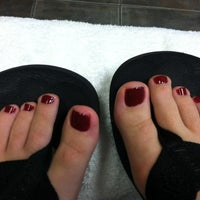 Photo taken at Lovely Nails by Shelby G. on 12/16/2012