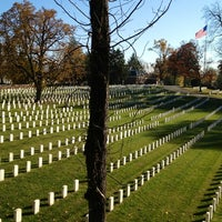 Photo taken at Alexandria National Cemetery by Christopher A. on 11/13/2012