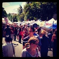 Photo taken at Glebe Markets by Nick d. on 11/18/2012