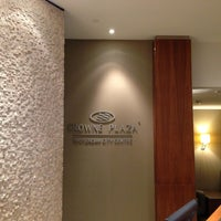 Photo taken at Crowne Plaza Amsterdam City Centre by Pornvipa A. on 5/7/2013