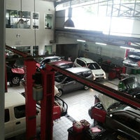 Photo taken at Nissan Martadinata by Steven R. on 1/10/2014