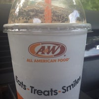 Photo taken at A&W Restaurant by Rowena Y. on 9/21/2012