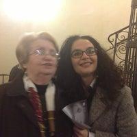 Photo taken at Teatro Giuseppe Manini by Manuela P. on 3/19/2013