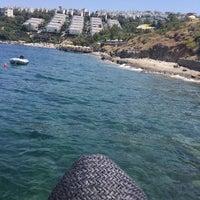Photo taken at Kırmızı Değirmen Beach by Burak G. on 7/9/2016