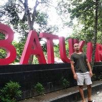 Photo taken at Pantai Batu Karas by Luthfi M. on 12/24/2015