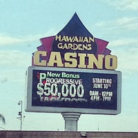 Photo taken at Hawaiian Gardens Casino by lafinguy on 7/14/2013
