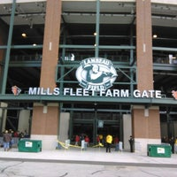 Photo taken at Mills Fleet Farm Gate @ Lambeau by John S. on 11/10/2013