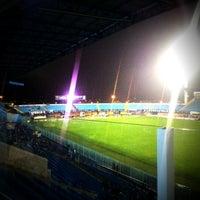 Photo taken at Estádio Aderbal Ramos da Silva (Ressacada) by Chaulee C. on 10/27/2012