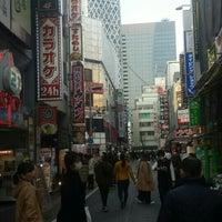 Photo taken at 世界堂 新宿西口店 by Tatsuya F. on 2/28/2016