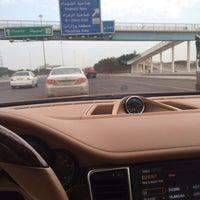 Photo taken at أشارة جنوب السرة و طريق المطار by Bo Salman on 3/21/2015