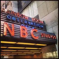 Photo taken at 30 Rockefeller Plaza by Justin S. on 7/19/2013