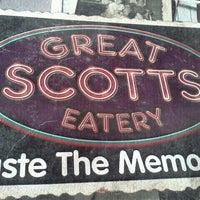 Photo taken at Great Scotts Eatery by mike m. on 1/26/2013