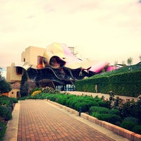Photo taken at Hotel Marqués de Riscal by Ekaterina on 4/10/2013
