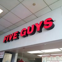 Photo taken at Five Guys by Bo W. on 4/28/2013