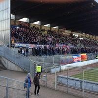 Photo taken at Grotenburg-Stadion by Christoph P. on 4/1/2013