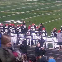 Photo taken at Boulder High School Stadium by Mary H. on 11/2/2013