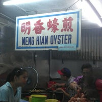 Photo taken at Meng Hian Oyster by Zen S. on 3/30/2013