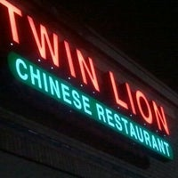 Photo taken at Twin Lion Chinese Restaurant by Kevin B. on 10/8/2012