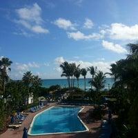 Photo taken at Four Points by Sheraton Miami Beach by Evgeniy M. on 1/6/2013
