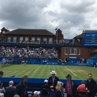 Photo taken at Queen's Club by Paul T. on 6/17/2016
