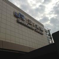 Photo taken at JR Sannomiya Station by muragin1029 on 10/13/2012