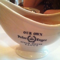 Photo taken at Peter Luger Steak House by Kristi E. on 5/22/2013