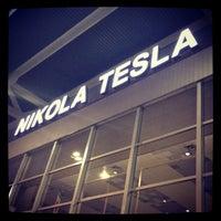 Photo taken at Nikola Tesla Airport (BEG) by George K. on 5/10/2013
