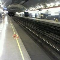 Photo taken at Metro Hernando de Magallanes by Leslye F. on 2/10/2013