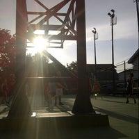 Photo taken at Lapangan Basket Duren Sakti by rw i. on 3/17/2013